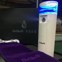 Wholesale 20PCS LJJH1354 Hot Sell DoShoW Face Moisture Mini Nebulizer Nano Mist Facial Steamer Handy Hydration Sprayer