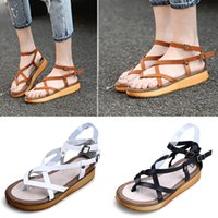 Wholesale Newest Women s Granola Fisherman Sandal Shoes with Leather Flat Shoes for Girl Plus Size