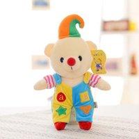 Wholesale 28CM new Unicorn Children Stuffed Animal Doll Christmas Clown Teddy Bear Plush Toy Doll Gift