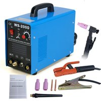 Wholesale 110v v Dual Welder AMP DC Inverter TIG MMA Welding Machine Stainless Steel