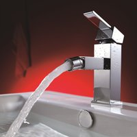 bathroom bidets - Polished Chrome Bidet Faucets Brass degree Rotation Single Hold Basin Taps for Bathroom and Kitchen