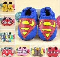 Wholesale New Arrive Lovely Minions Newborn Baby Boys Girls Shoes First Walkers Cotton Toddler Shoes Baby Shoes Branded New Arrive Lovely Mini12