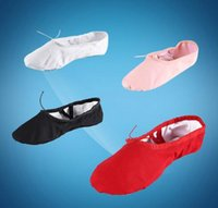 Wholesale Brand New Style Unisex Exercise Ballet Canvas dance shoes SLIPPERS Sales Promotion