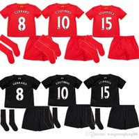 Wholesale New Premier League top Thailand quality Liverpool Kids jersey Gerard Coutinho LALLANA children kit shirt