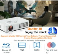 Wholesale BYINTEK MD305 HD Wifi Bluetooth Airplay Android K Miracast Home Theater Portable HDMI USB LCD Mini D LED Projector For Iphone