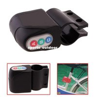 Wholesale Hot Excellent Motorbike Alarm Security Cycling Bicycle Bike Steal Lock Moped DHL H1252