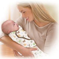 Wholesale 2016 New Newborn thin baby swaddle wrap parisarc organic cotton soft infant Blanket Swaddling wrap sleepsack swaddleme summer sleep bag