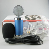 Conference best stage microphone - Best Quality Recording Microphone Unidirectional Condenser Microphone for Studio Broadcasting Stage DJ Karaoke Home Party Drum PC Broadcast