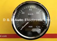auto charts - KUS Auto GPS Speed Charts Black Speedometers km h V V With GPS Antenna Black Color