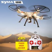 Wholesale Boutique toys Syma X8HC The latest product RC drone With G CH Axis Altitude Hold Headless Mode remote control Quadcopter