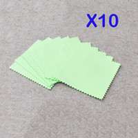 Wholesale 10pcs Silver Polishing Cloth Sterling Silver Jewelry Cleaner Anti tarnish
