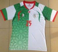 algeria football soccer - soccer jersey algeria maillot de foot camisetas de futbol football shirt new