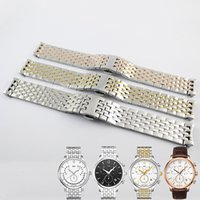 Wholesale 20mm T063617 T063639 New Watch Parts Male Solid Stainless steel T063610 T063637 bracelet strap Watch Bands For T063