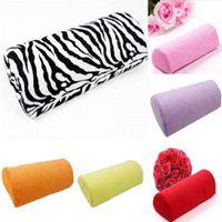 Wholesale 1 X Car Auto Salon Manicure Care Half Hand Rest Covers Cushion Support Pillow Nail Art Design Soft Column Car Accessories