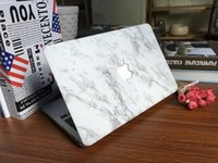 """Cheap White Marble Rubberized Hard Case Free Keyboard Cover for Apple Macbook Pro   Air   Retina 12 13 15"""" Air 11 13""""inch"""