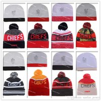 american kansas - Kansas City Beanies Winter High Quality Beanie For Men Chiefs Beanie American Football Women Skull Caps Skullies Knit Cotton Hats