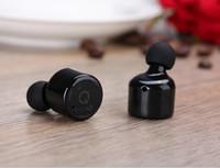 Wholesale Mini Invisible X1T True Wireless Bluetooth Earphones CSR Handsfree Earbuds for iPhone Plus Samsung S6 Xiaomi