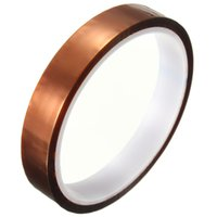 Wholesale Hot Sale mm x m One side Self adhesive High Temperature Heat Resistant Polyimide tape Degree