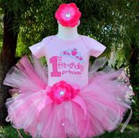 ballet headbands - Cute Baby Girls Tutu Skirts Kids Handmade Fluffy Ballet Pettiskirt with Ribbon Bow Headband Children Birthday Party Tutu Free Ship