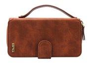 Wholesale 2016 New Iphone Plus Handbag in Portable Zipper Lady Wallet Cellphone Bag Cover Case