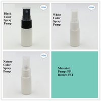 Wholesale Blue color spray bottle cosmetic spray pump empty cosmetic spray bottle with platsic sprayer ml