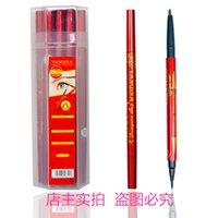 Wholesale Cosmetics The New Double Long Lasting Eyeliner Pencil Eyes Makeup Waterproof Liquid Eye Liner Pen Not Blooming Cool Black rz