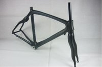 Wholesale Bicycle Frame Carbon Frame CM Orange Painting K Weave With Bottom Frame Glossy Matt