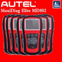 abs auto services - odb2 scanner Autel Maxidiag Elite MD802 scanner for systems DS model Engine ABS Airbag EPB OIL Service Rese diagnostic auto