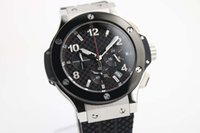 auto battery suppliers - AAA supplier store styles Luxury Brand watches men big bang rubber band watch quartz sports chronograph Watch Mens dive Watches