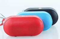 Wholesale 2016 Pill XL Bluetooth Speaker Mini Pill Speaker Subwoofer Stereo Speaker Bulit in Mic Handsfree Support TF USB mm Audio Big Sound