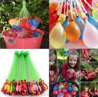 Wholesale 2016 Colorful Bunch Water Ballons Children Water Game Toys Amazing Magic Sport Water Filled Ballons Water sprinkling sets