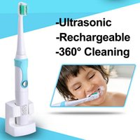 Wholesale newest only v IPX7 Rechargeable Electric Toothbrush Ultrasonic Tooth Brush sonice teeth Rechargeable Tooth Brush tool Kids Adults