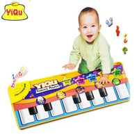 animal piano games - Children game blanket Multi Color Colour Kids Baby Animal Piano Musical Touch Play Singing Gym Carpet Mat Toy Gift Music Carpet