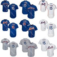 authentic mets jersey - White Royal grey blue Tim Tebow Authentic baseball Jersey Men s Tim Tebow New York Mets Flexbase Collection stitched s xl
