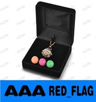 ball display case - Cage Necklace Jewelry Display Box Colors Angel Ball Carrying Case LLFA