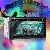 Wholesale 2 Din inch Car DVD Radio Player Car MP4 MP5 Player Bluetooth V3 quot In dash Video USB SD MP4 Player FM AM Radio