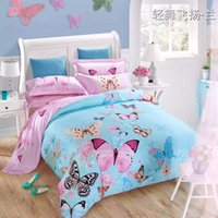 Wholesale 2016 All cotton bed sheets quilt cover pillow case bed hotel medium Home Furnishing wedding bedding supplier