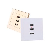 Wholesale charger manufacturer Home Useful Port USB Smart Power Charger Socket V To V For Cell Phone PC And Newest