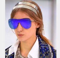 big quality mirrors - new fashion women brand designer sunglass butterfly sunglass rimless coating mirror lens cool fashion big frame top quality