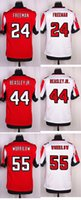 Wholesale 2016 Newest AF Devonta Freeman Vic Beasley Jr Paul Worrilow Elite Football Jerseys