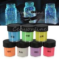 Wholesale Hot Sale ml Graffiti Party DIY Glow in the Dark Acrylic Luminous Paint Bright Pigment Party Makeup Decor Colors