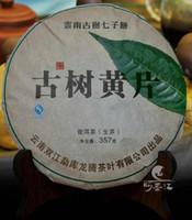 al por mayor pu erh de la salud-Pu er hojas de la torta de té 357g Yunnan Mengku té crudo Sheng árboles Pu-erh salud pu'er adelgazante té
