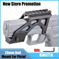 Wholesale KINSTTA Tactical Laser Flashlight MAKO PRO GIS Rail Mount With Picatinny Rail For Glock Pistol Gen