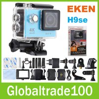action pro white - Original EKEN H9 se H9R se K Action camera Cam With Remote MP WiFi inch go Waterproof pro H9SE Helmet Sport camera