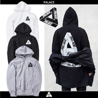 Wholesale 2016 Spring Autunm fleece Palace Skateboards Hoodie Men Cotton Hip Hop Hoodies Sweatshirt anti social social club Off white mens hoodies