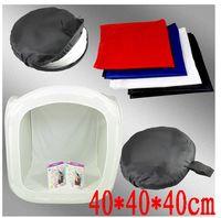 bags for tents - 16 quot Photo studio soft box cm cube photographic photo light tent brackdrops portable bag for Photography studios