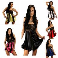 arrival doll sleepwear - New Arrivals Women Lady Baby Doll Sexy Skirt Lingerie Dress Underwear Sleepwear G string Silk Lace Plus Size