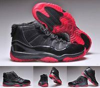 basketball shose - 2015 Cheap Retro XI Basketball Shoes For Men s Athletic Basketball Shoes Fur Black Men s Sport Shose