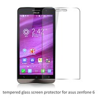 asus protect - 200pcs mm Thin D H Tempered Glass screen protector for Asus Zenfone Z6 Protecting Film without retail package