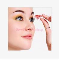 Wholesale Pair Plastic Pink Reusable Dual Double Eyelid Clipper Maker Clip Shaper No Glue